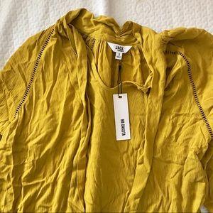 BB Dakota Yellow long sleeved top